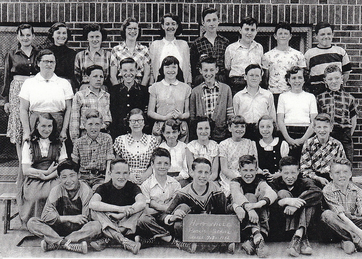 Huttonville Public School, 1952 Class Photo