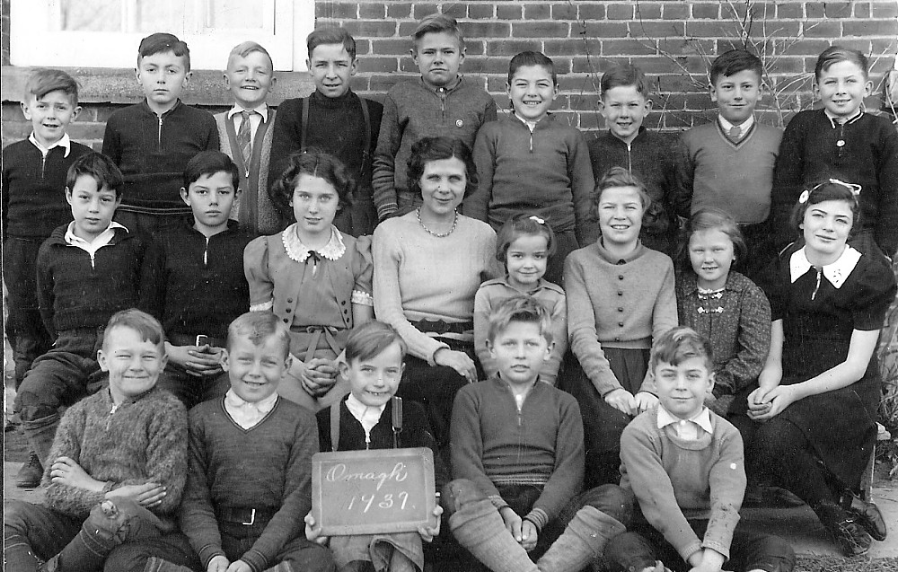 Omagh Public School, 1939 class photo