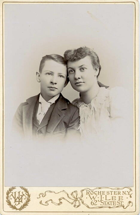 Photograph of Thomas and May McCarthy, Rochester, N.Y.