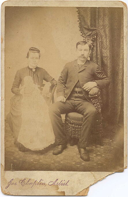 Photograph of Duncan and Fanny McLeod