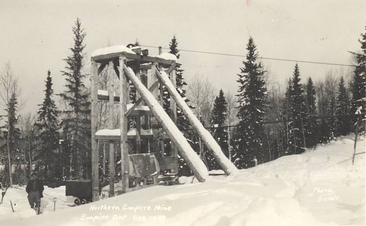 Northern Empire Mine, Ontario, 1929