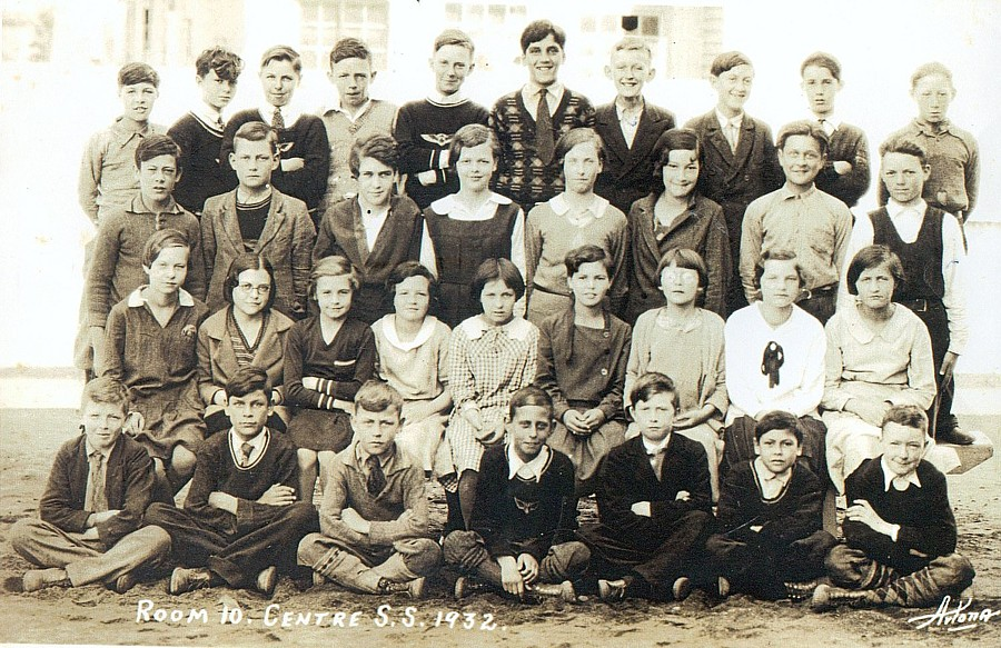 Pembroke Ontario, Room 10, Centre S.S., 1932, Class Photo