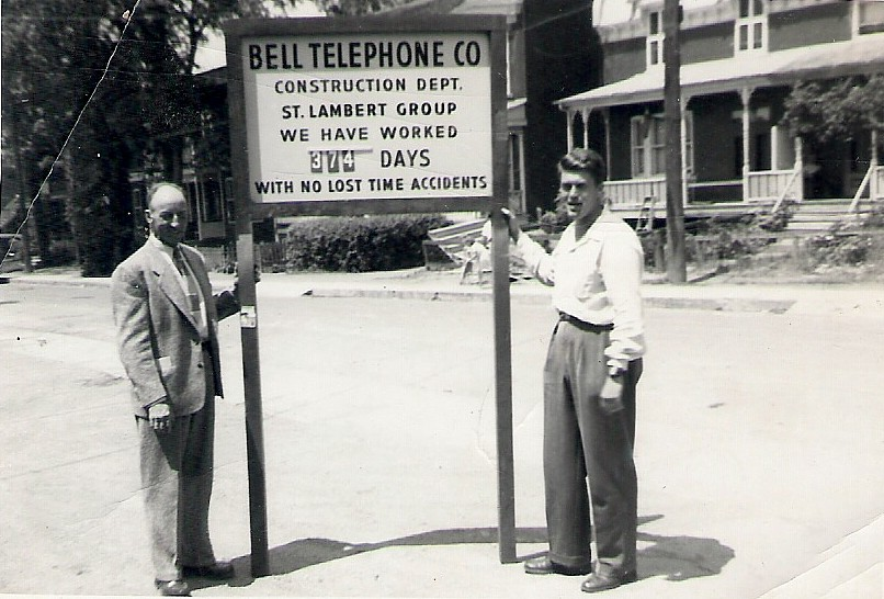 Bell Telephone employees, St. Lambert, Quebec.