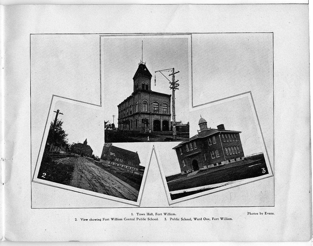 Thunder Bay historical booklet, c.1900